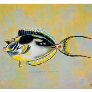 Kala reef fish series painting by artist Rick Kroninger | Felder Gallery