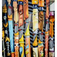 Rick Kroninger Haiti painting