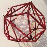sand dollar art cube