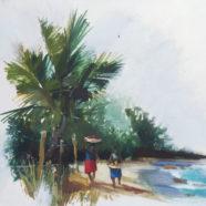 Ken Auster Orignal Surf Art