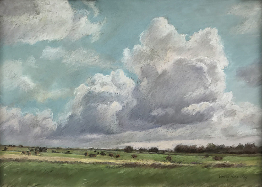 Spring landscape by Nancy Bandy | Felder Gallery