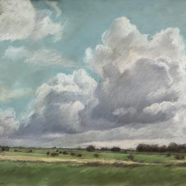 Spring landscape by Nancy Bandy | Felder Gallery