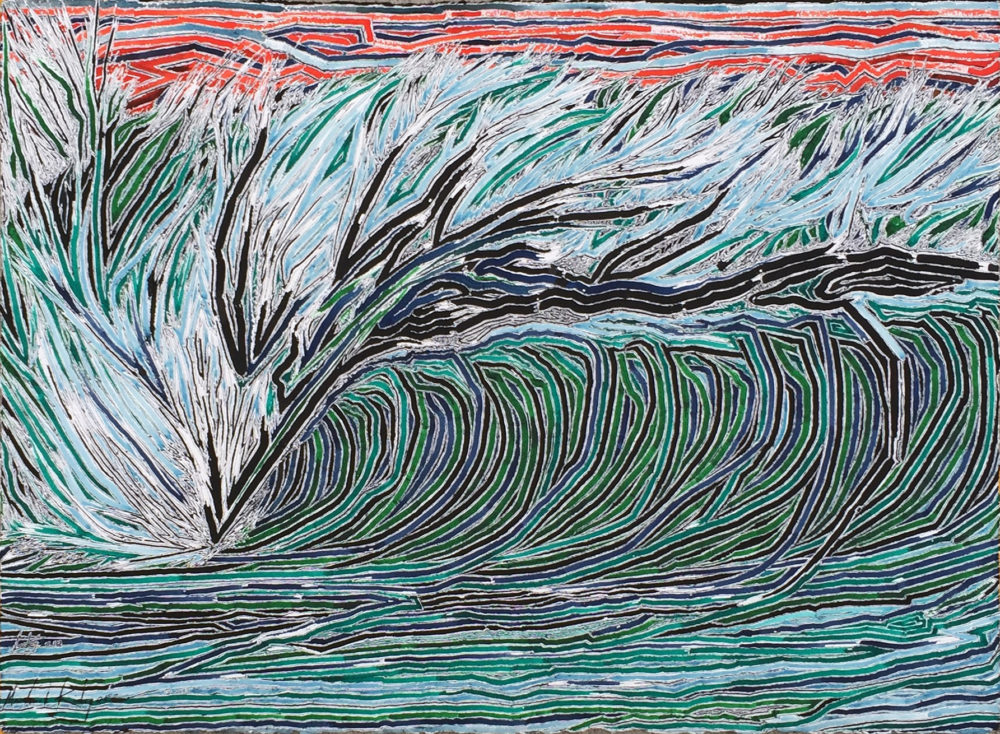 Topography of a wave by Lucky Kilgore | Felder Gallery