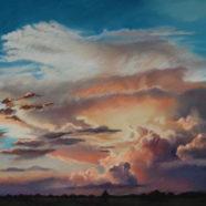 Pastel landscape painting by Texas artist Nancy Bandy | Felder Gallery