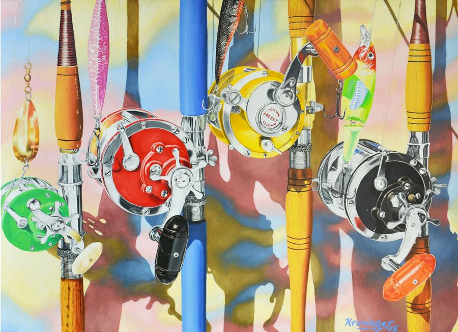 Rick Kroninger Rod and Reel 8 | Felder Gallery