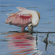 Roseate painting