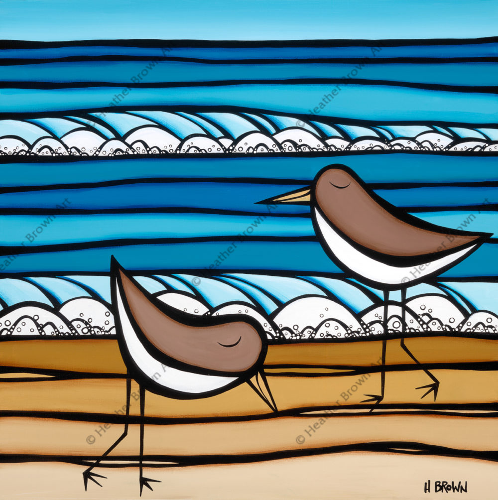 Sea Birds by Heather Brown now available in Texas | Felder Gallery
