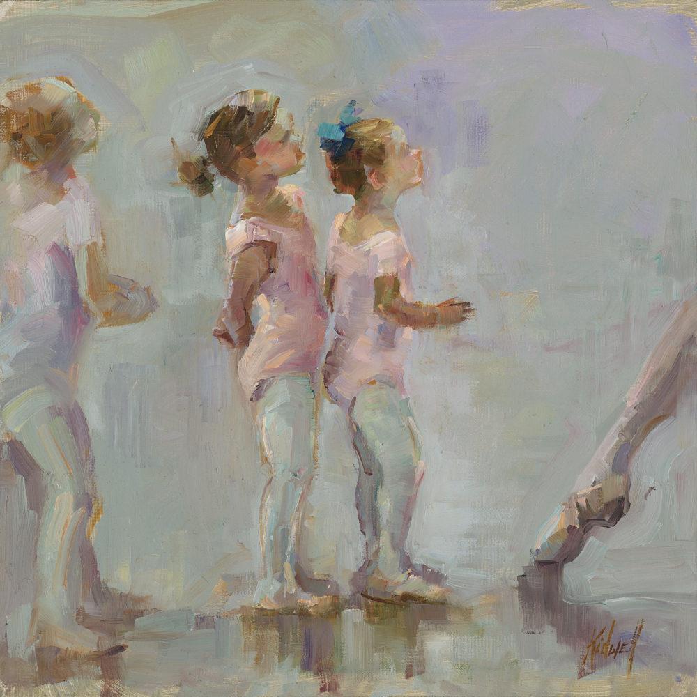 Ballerina painting by Christy Kidwell | Felder Gallery
