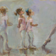 Ballerina painting by Christy Kidwell | Felder Gallery