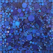 photograph of blue plastic by shelia rogers | Felder Gallery