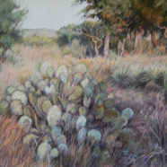 Landscape drawing by Nancy Bandy | Felder Gallery