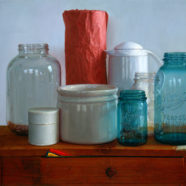 oil painting of jar still life by bill vuksanovich | Felder Gallery