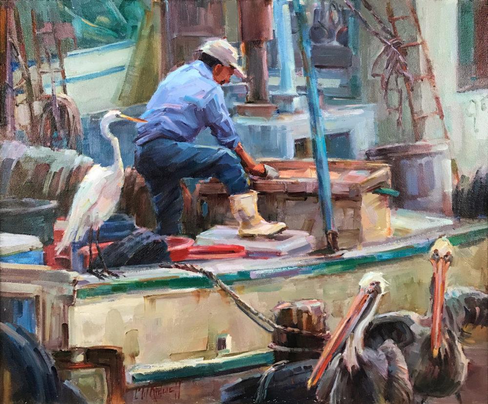 Christy Kidwell coastal painting | Felder Gallery