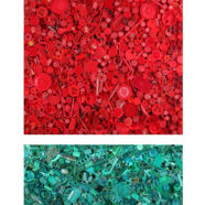 photograph of red and green plastic by shelia rogers | Felder Gallery