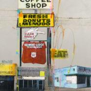Maureen Brouillette collage painting | Felder Gallery
