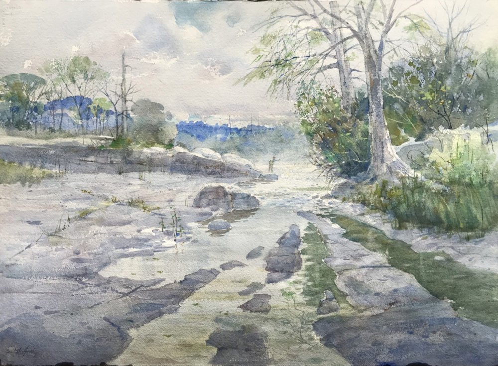Clay McGaughy original watercolor painting | Felder Gallery
