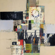 Maureen Brouillette collage painting | Felder Gallery