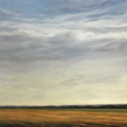 morning field landscape by marjorie lindsay | Felder Gallery