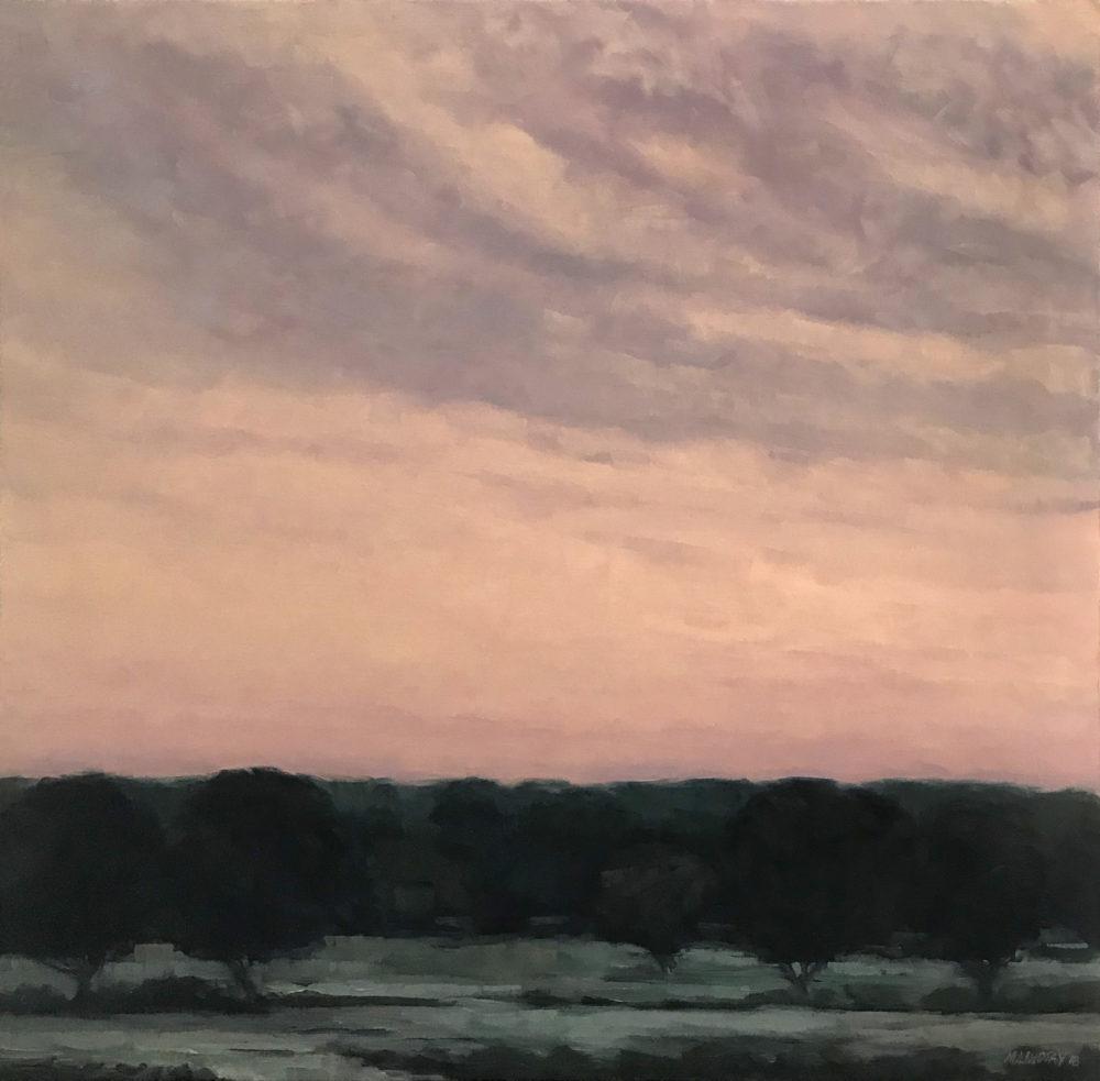 oil landscape by marjorie lindsay   Felder Gallery