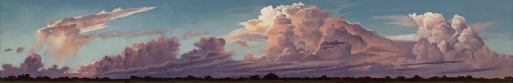 oil cloudscape painting by nancy bandy | Felder Gallery