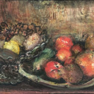 acrylic still life painting of produce by john cobb | Felder Gallery