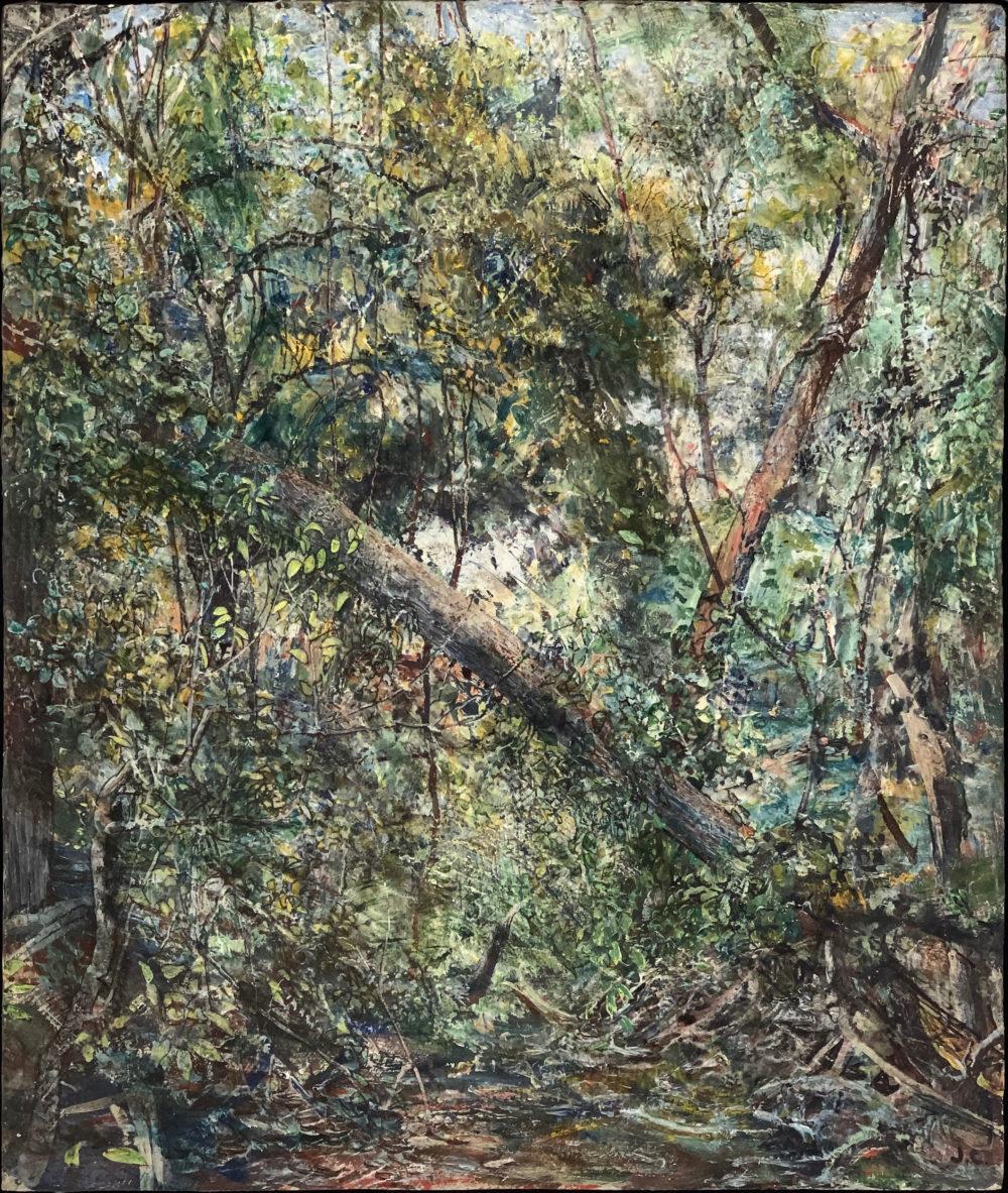 acrylic painting of landscape by john cobb | Felder Gallery
