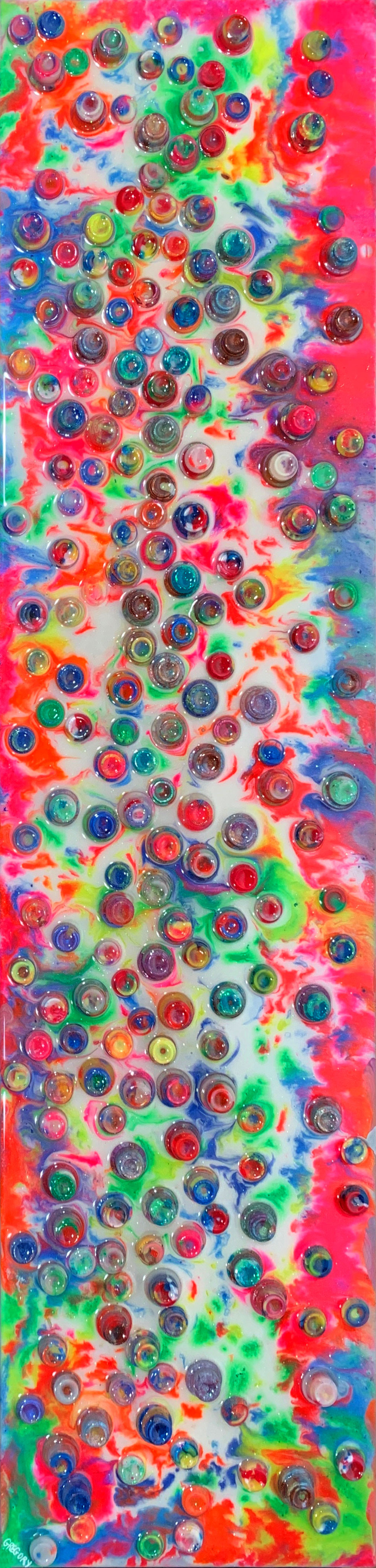 colorful abstract painting by allison gregory | Felder Gallery