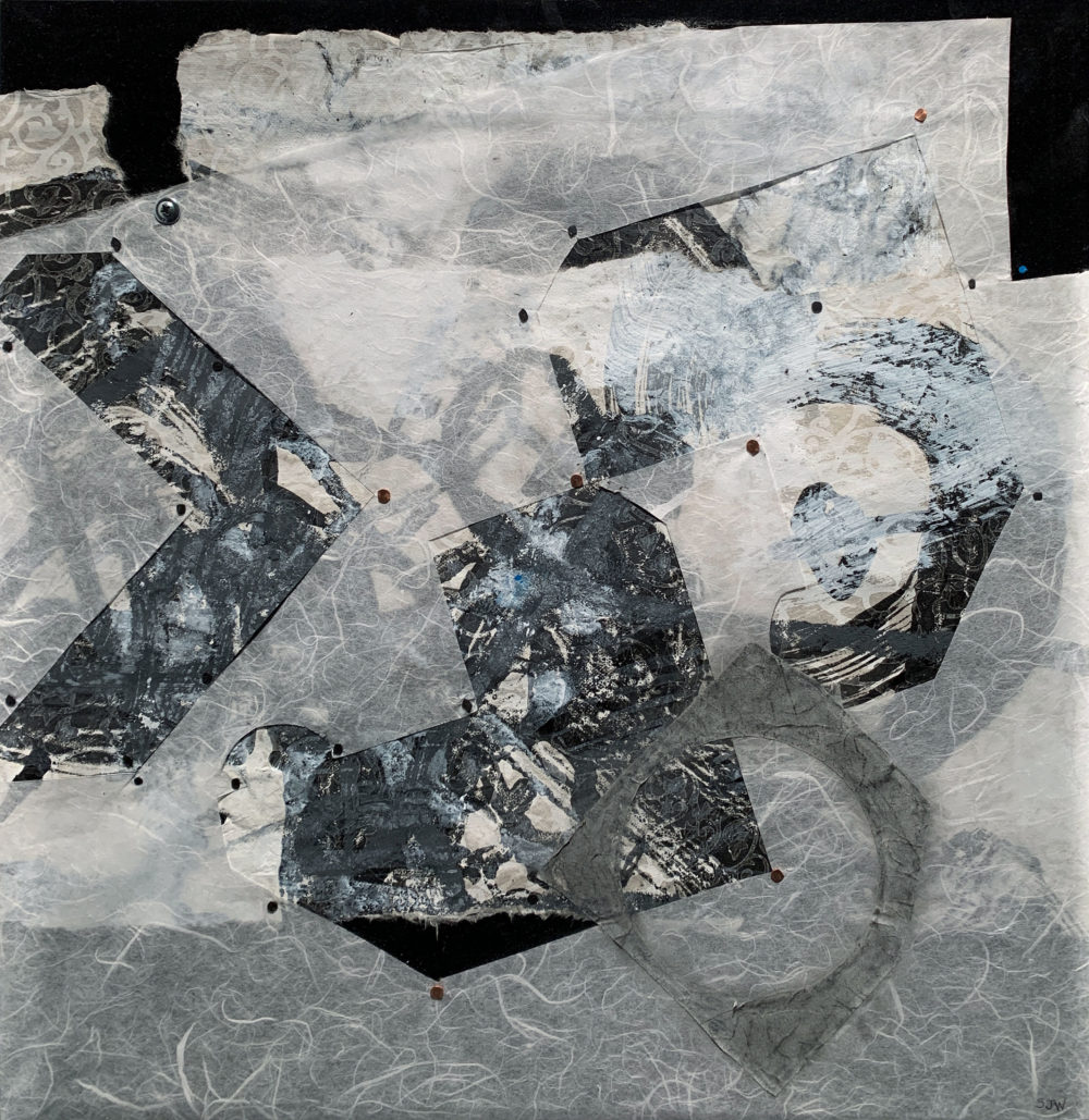 mixed media painting by sandy whitby | Felder Gallery