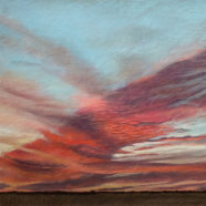 cloudscape drawing by nancy bandy | Felder Gallery