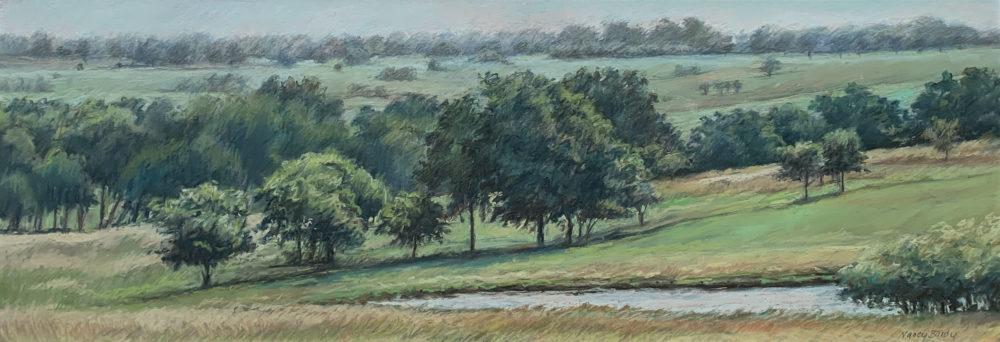 landscape drawing by nancy bandy   Felder Gallery