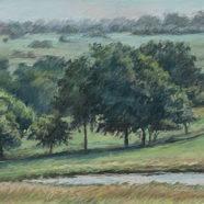 landscape drawing by nancy bandy | Felder Gallery