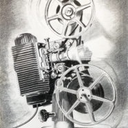 pencil drawing of analog object rick kroninger | Felder Gallery